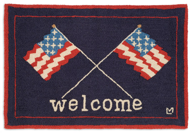 AMERICAN WELCOME FLAGS