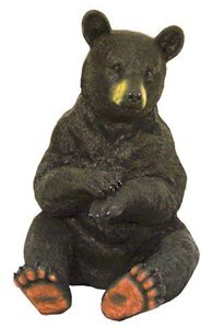 Sitting Bear with Paws Crossed