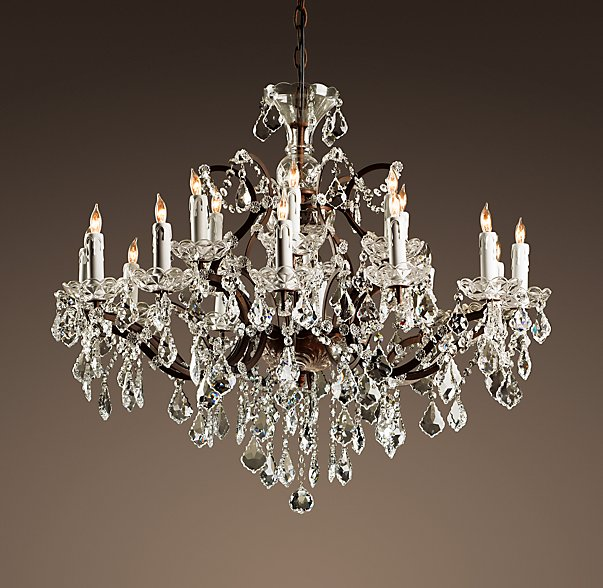 Crystal Chandelier - Medium