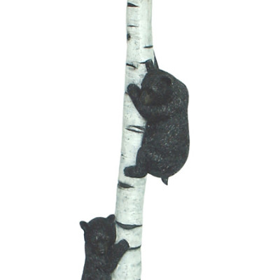 Bears Floor Lamp Birch Tree
