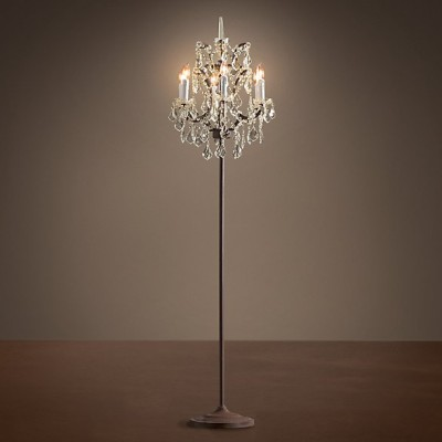 Floor Standing Crystal Lighting