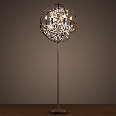 Floor Standing Gyro Crystal Lighting