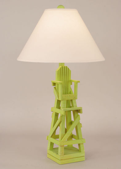 home lighting table lamps lifeguard chair table lamp. Black Bedroom Furniture Sets. Home Design Ideas