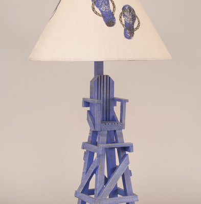 Lifeguard Chair Table Lamp
