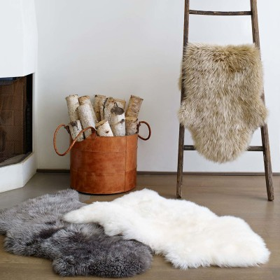 Sheepskin Rugs (2x3.5 ft)