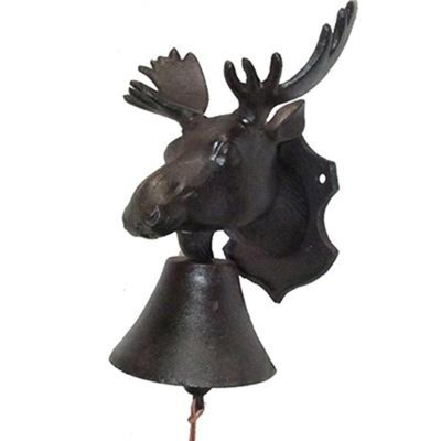 doorbell, moose head