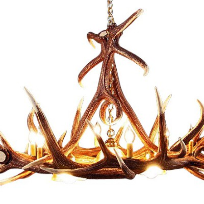 elk-6-antler-chandelier-with-3-downlights-2