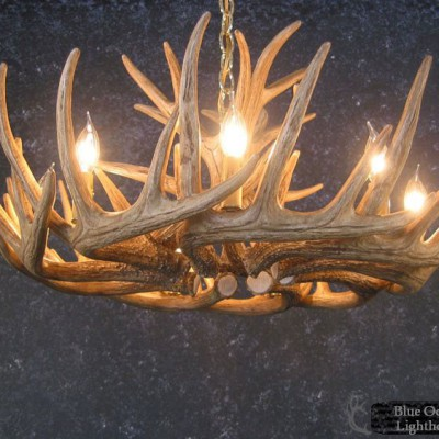 whitetail-deer-12-antler-cascade-chandelier-2