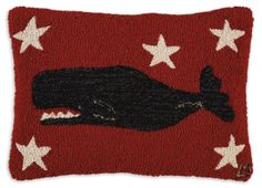 whale-on-red